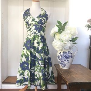 - Lilly Pulitzer Willa Halter Playdate Print Dress